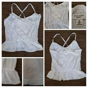💙 2 for $15 💙 Gilly Hicks white top